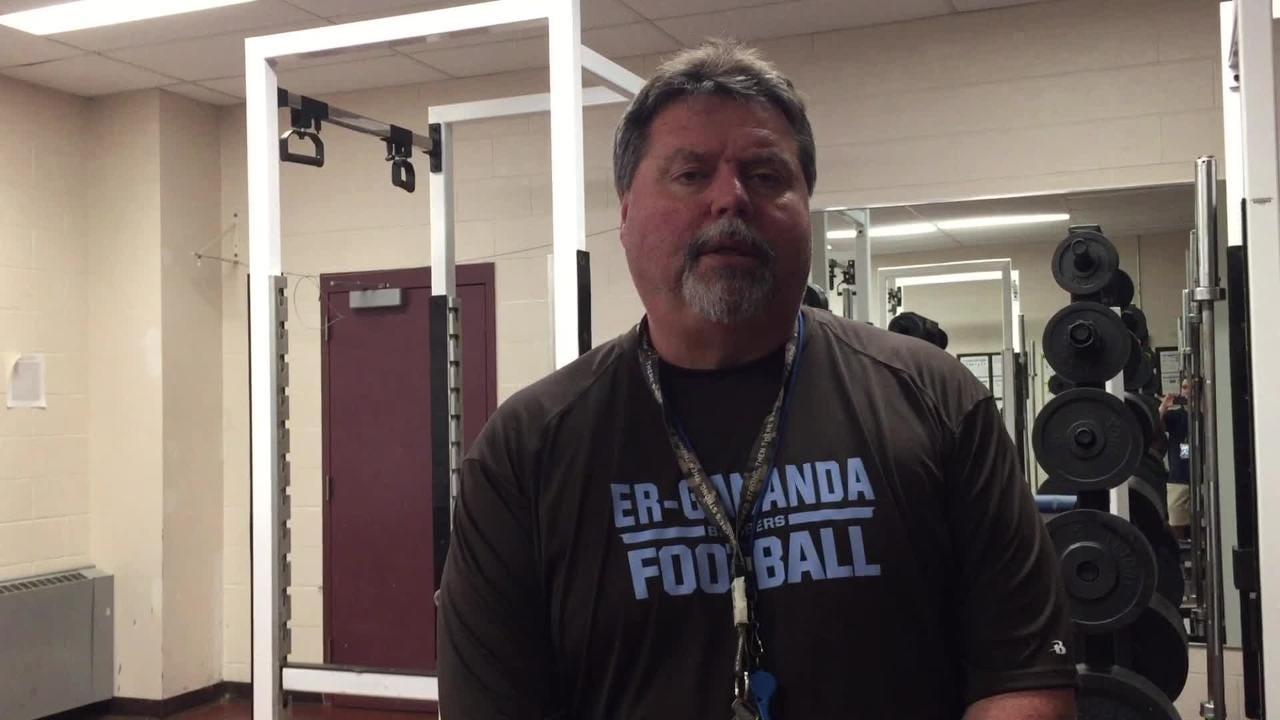 Three preseason questions with new East Rochester/Gananda football coach Brian Touranjoe