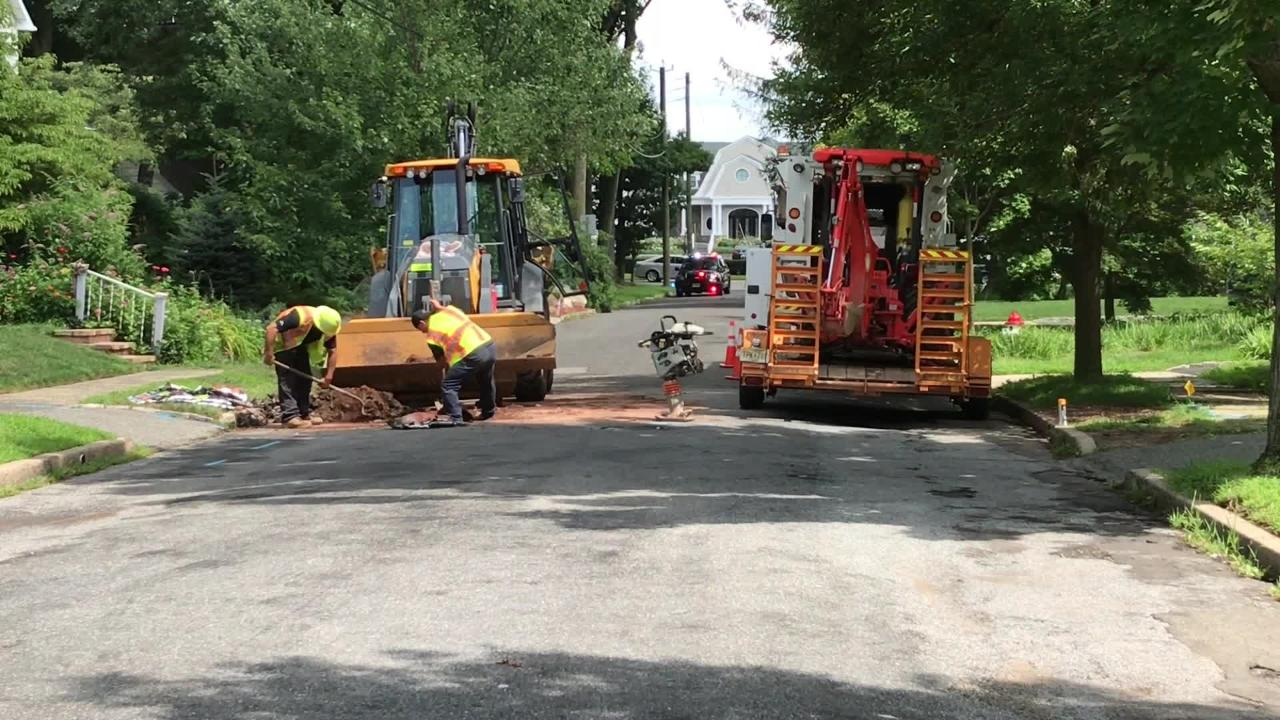 For the second time in two-and-half weeks, a gas leak occurred near a Montclair home owned by Real Housewives of New Jersey star Joe Gorga.