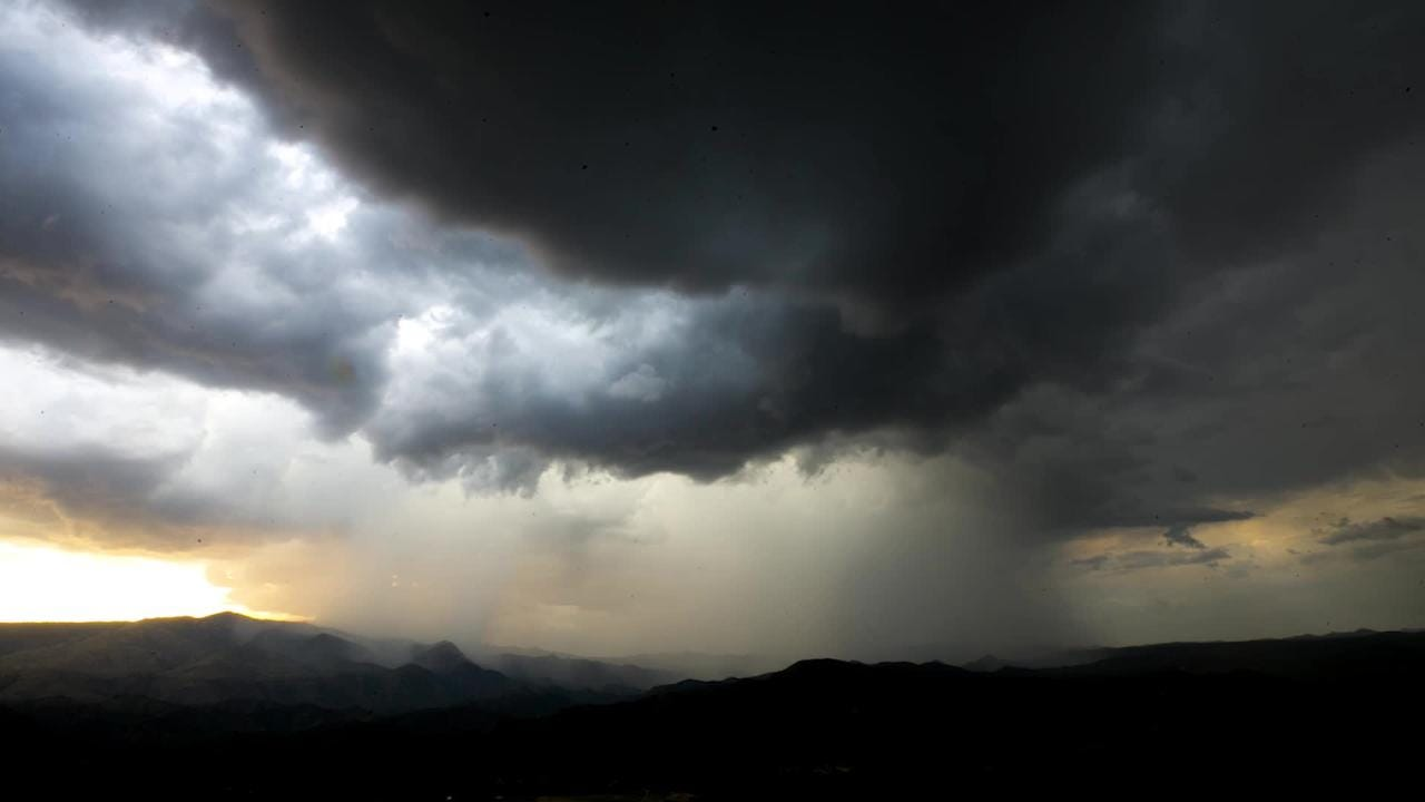 A time lapse of a monsoon moving into Sunset Point on I17 north of Black Canyon City on Monday evening, August 13, 2018.