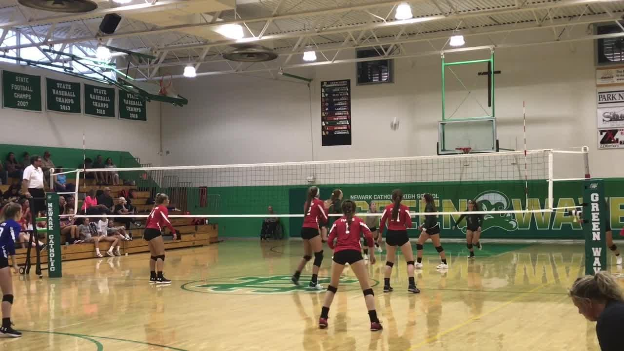 Licking County volleyball teams put on show