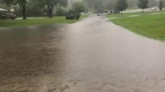 Max Schulte reporting from Chipping Ridge in Fairport this morning.