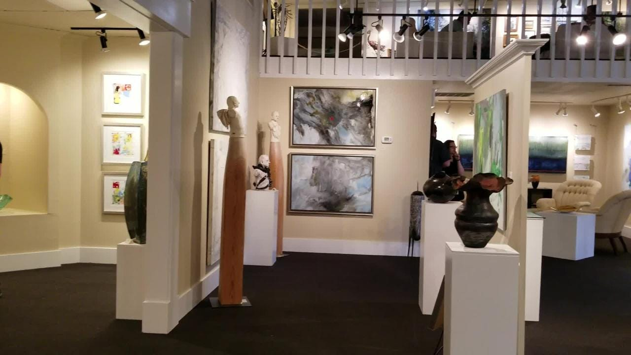 Take a look at the current exhibit at Signature Gallery on Capital Circle.