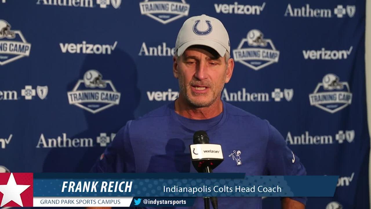 Frank Reich talks Ravens practice, return of Geathers