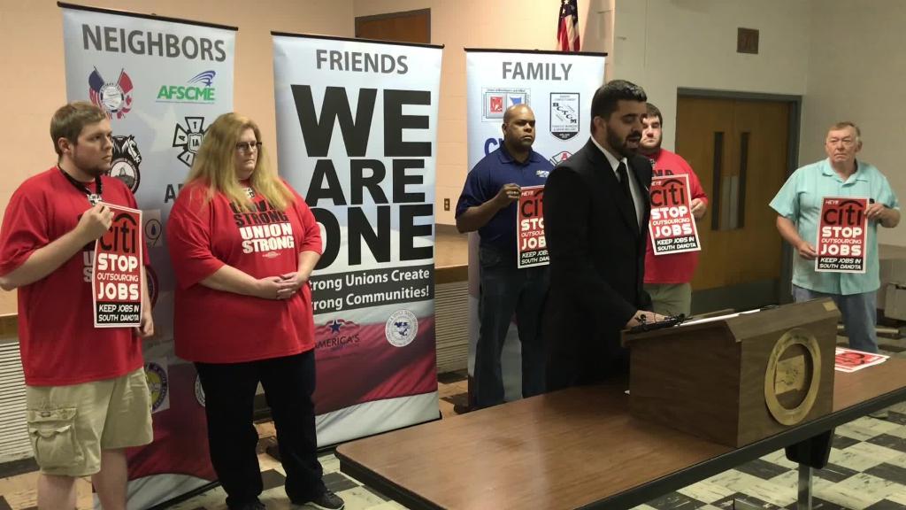 VIDEO: South Dakota jobs heading overseas, say labor unions