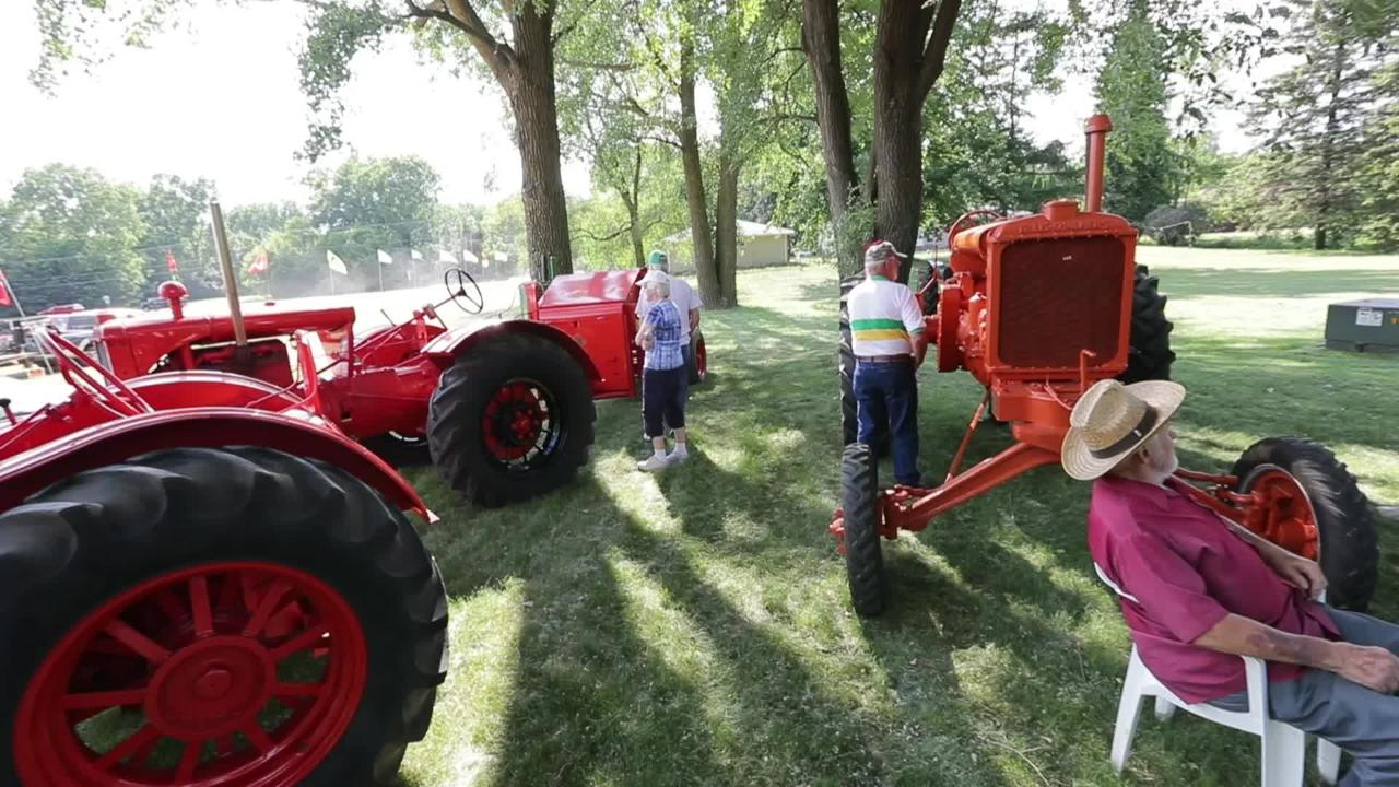 For 26 years Mark and Steve Petersen have shared their passion for tractors by hosting the Old Iron Event on their farm in Grand Chute.