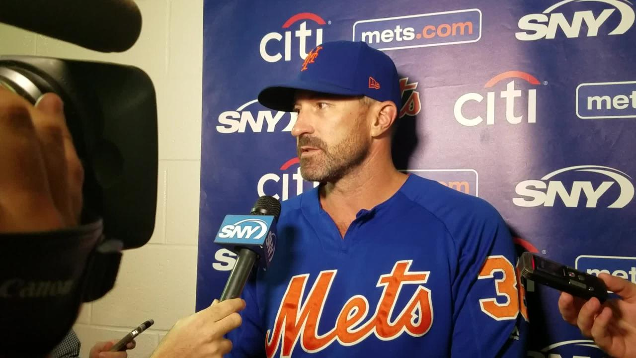 Mets manager Mickey Callaway previews Jason Vargas' start against the Orioles