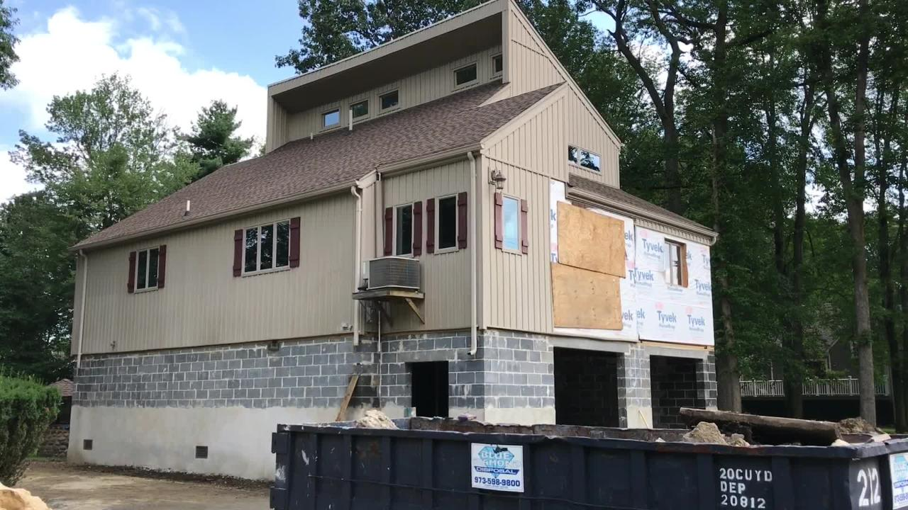 Craig Hantson, lift supervisor and project manager with SJ Hauck Construction in Egg Harbor, discusses elevating homes in Pequannock.