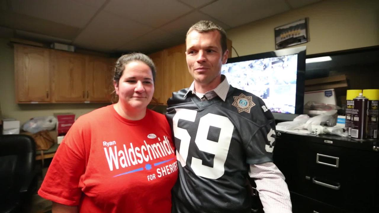 Sheriff elect Waldschmidt victory party