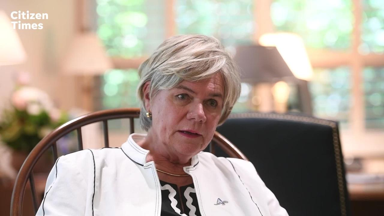 UNC Asheville's new chancellor Nancy J. Cable talks about her role as the eighth chancellor at the university.