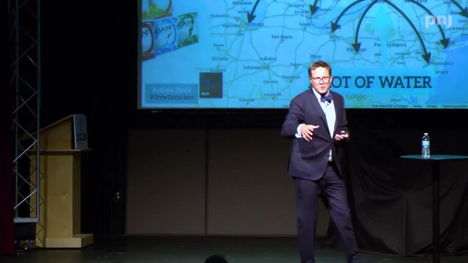Watch Andrew Davis talk about the 'Laws of Attraction'.