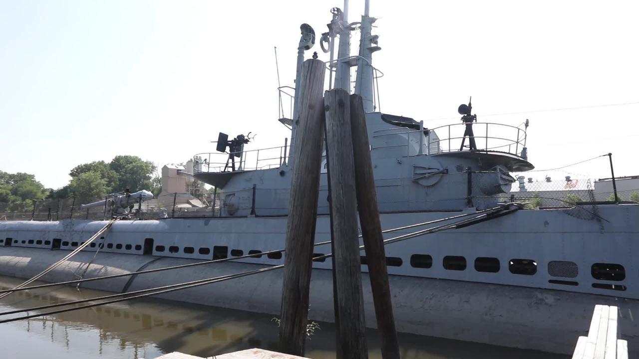 Next steps for Hackensack NJ sub USS Ling unclear after vandalism