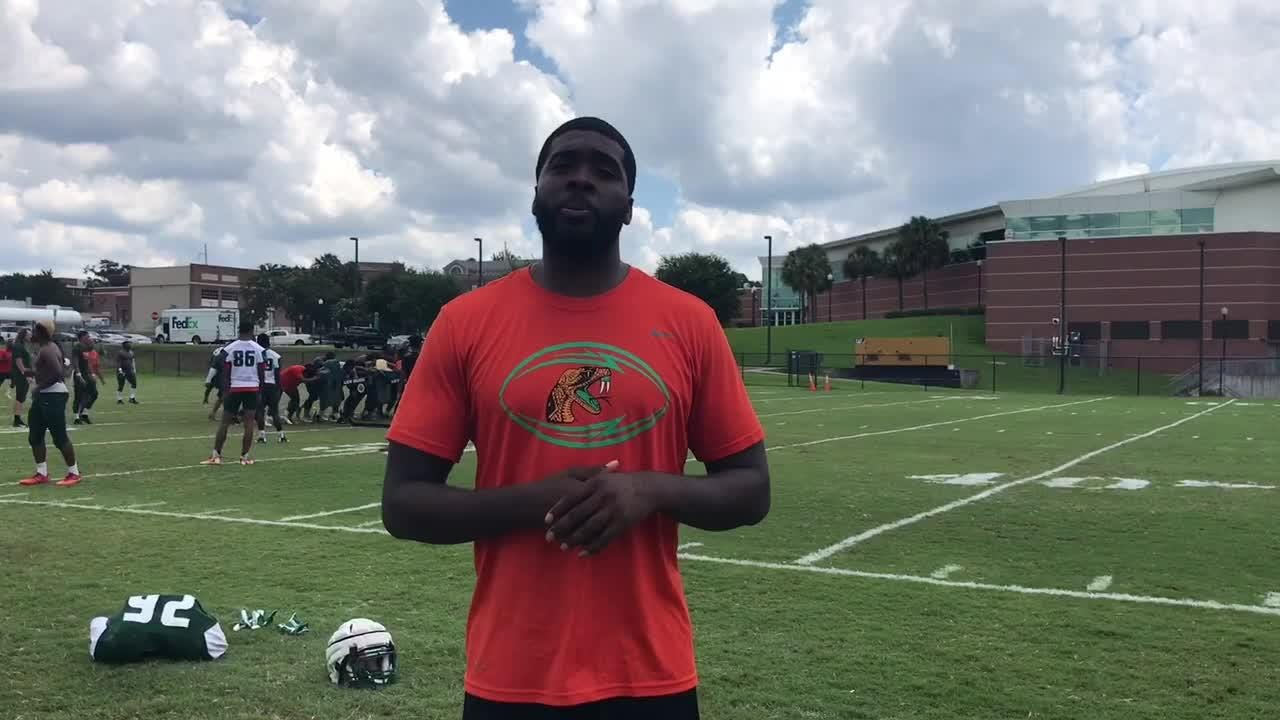 WATCH: Jelani Berassa discusses the talent level of FAMU's receiving corps and their ability to tally big numbers.