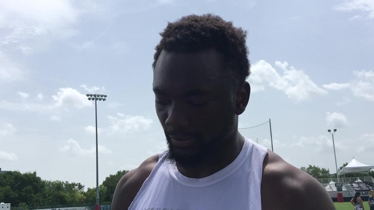 Titans wide receiver Corey Davis wants to lead the team's receiving corps.