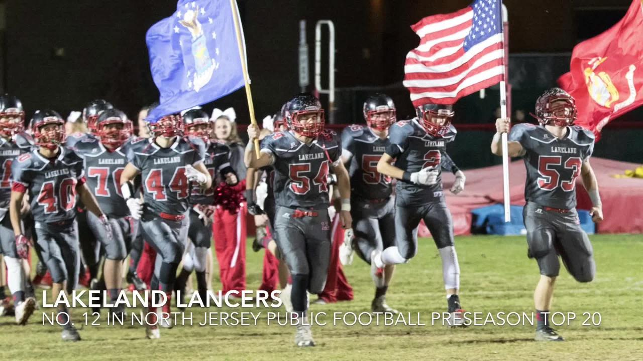 Varsity Aces' Greg Tartaglia unveils where Lakeland and Northern Highlands land in the North Jersey preseason poll.