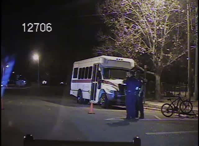 Dashcam footage of officer involved shooting