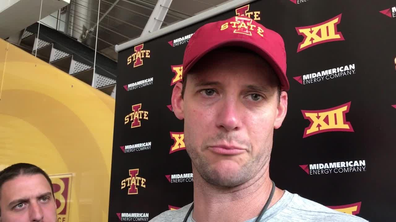 There's still time to sort out who is Iowa State's No. 3 quarterback, coach Joel Gordon says.