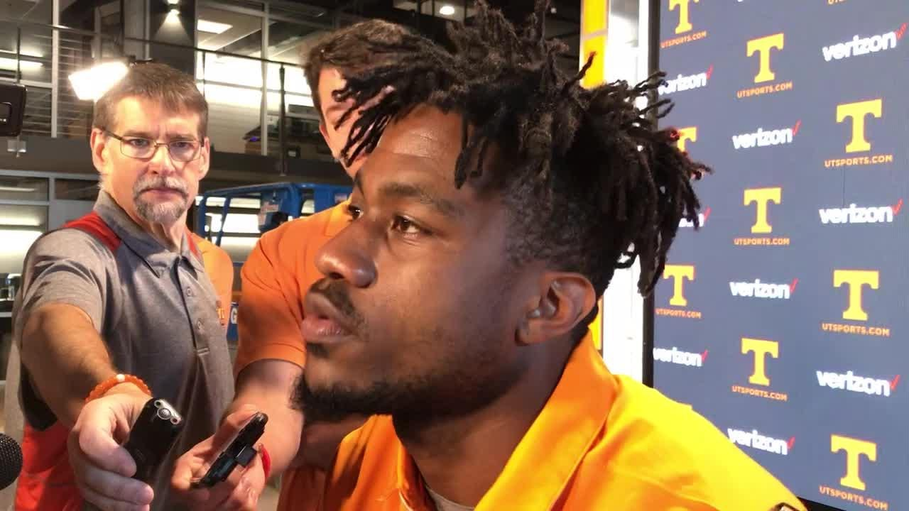 Vols running back Madre London came to UT as a graduate transfer from Michigan State