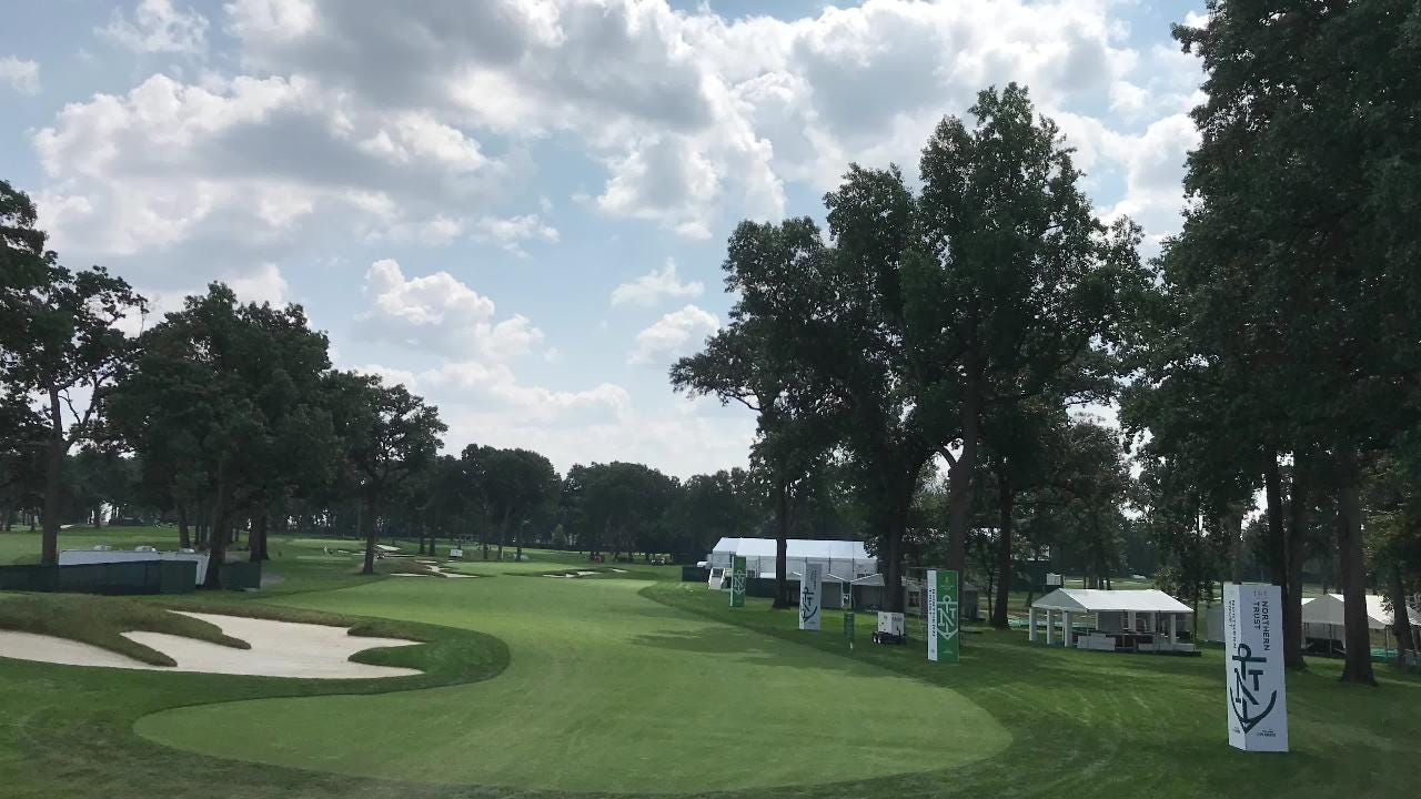 The Ridgewood Country Club is busy preparing for The Northern Trust - the first event of the PGA Tour's FedEx Cup tournament.