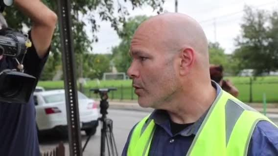 Brian Van Bokkelen of Indianapolis EMS on six students transported from Arsenal Tech following a fight on campus.