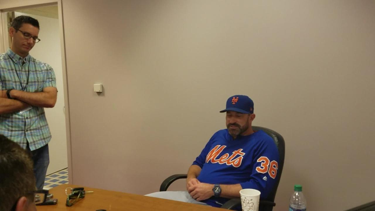Mets manager Mickey Callaway on facing ex-Met Asdrubal Cabrera