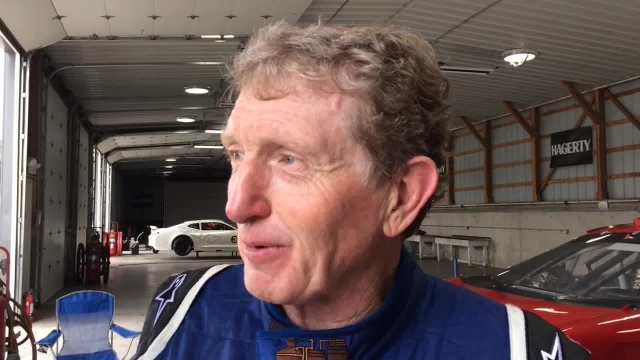 NASCAR Hall of Famer Bill Elliott was in a playful mood while trying to learn 4-mile Road America ahead of the Johnsonville 180 Xfinity Series race.