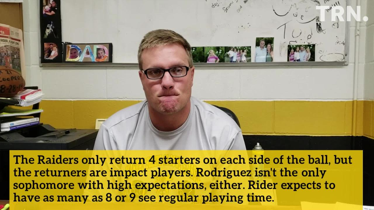 The Rider Raiders are a district favorite thanks to a solid group of seniors and a highly-touted sophomore class.