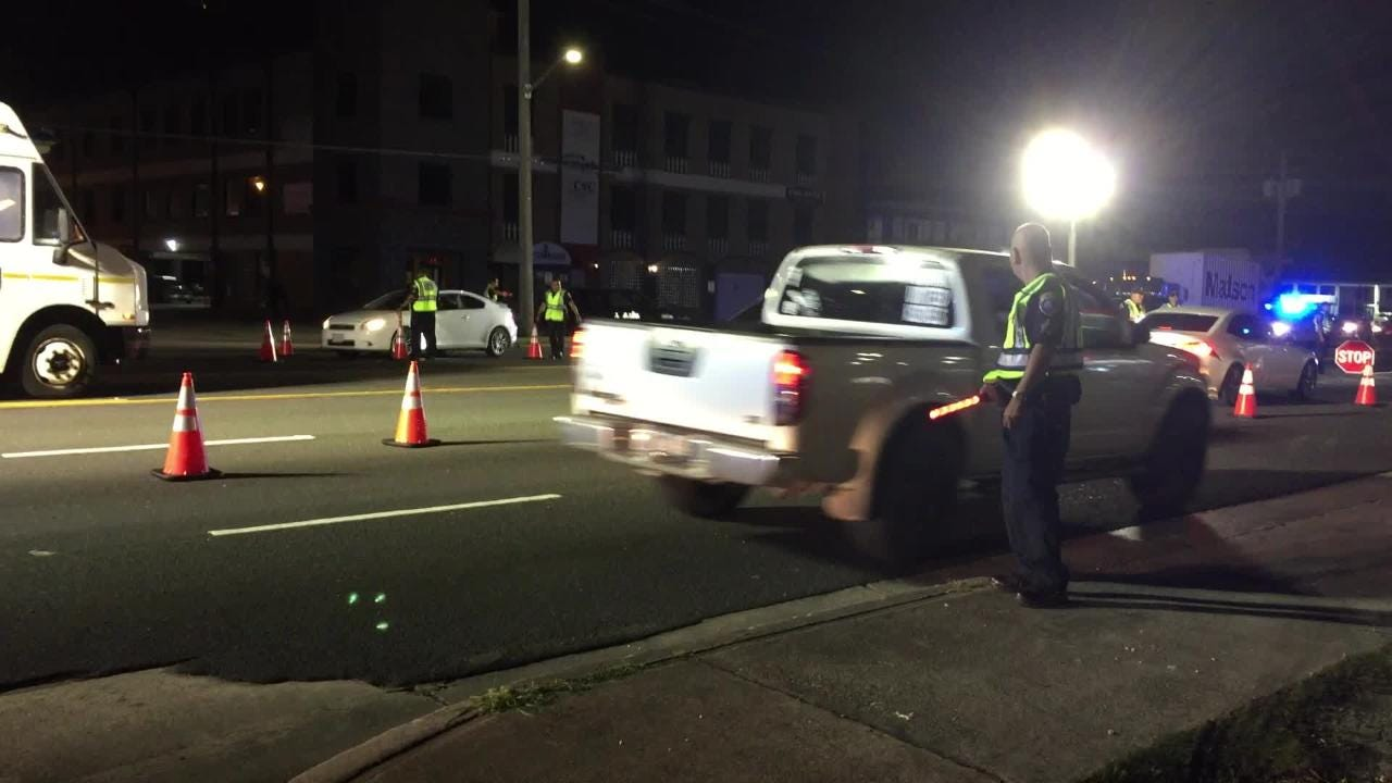 GPD sets up DUI checkpoint in Anigua