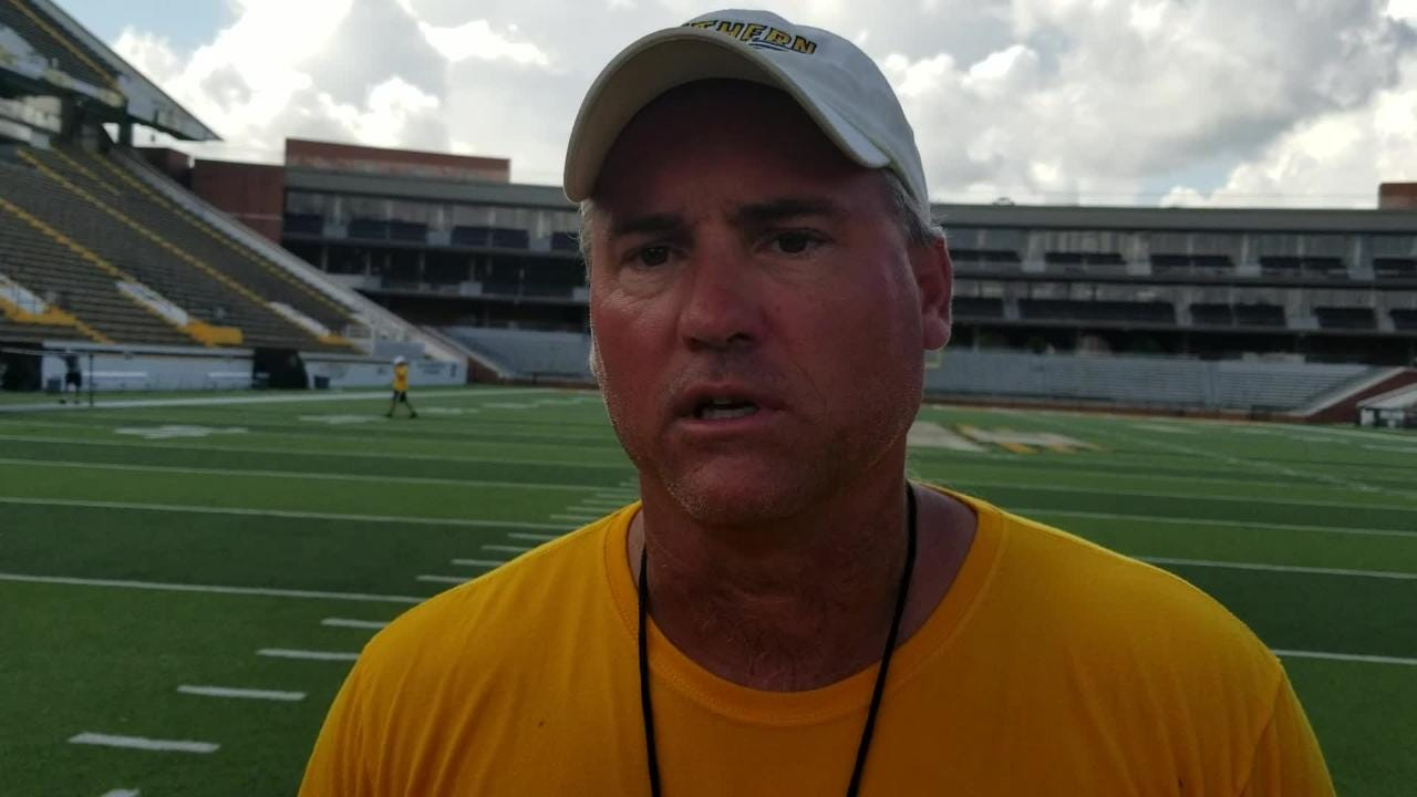 Southern Miss coach Jay Hopson talked about what he liked from practice on Friday and what he wants to see from his team on Saturday.