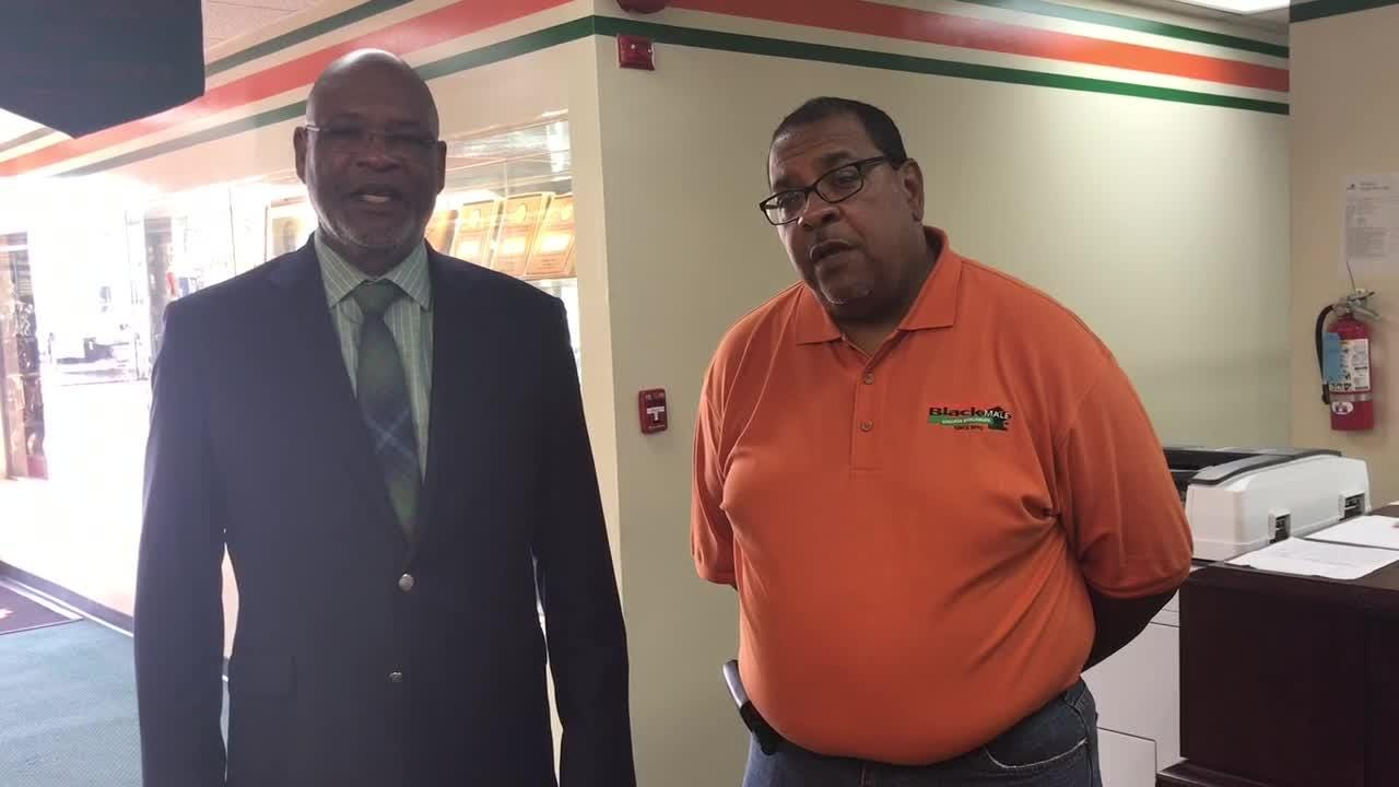 WATCH: FAMU athletics director Dr. John Eason and deputy athletics director Keith Miles talk about their excitement for the new field turf at Bragg.