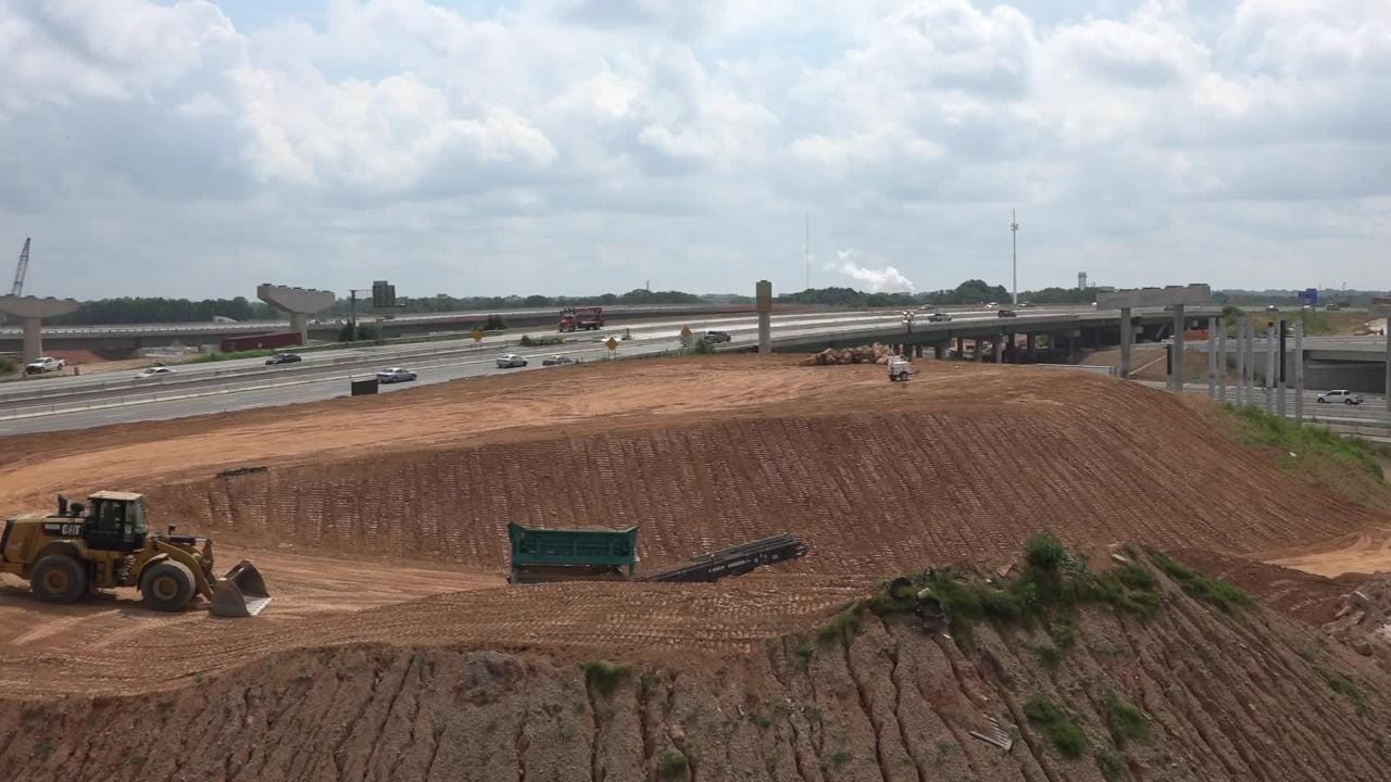 Project offers updates on the construction of the I-85 and 385 bridge and road project.