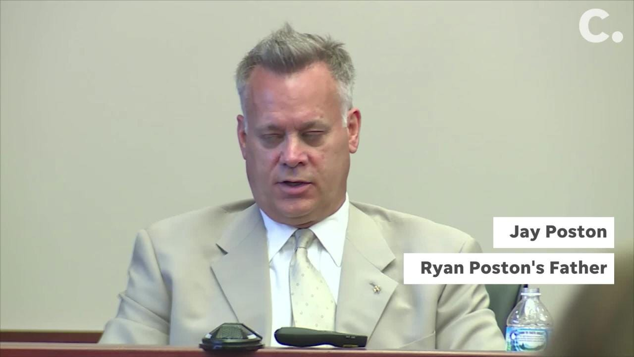 On Day 4 of testimony in the retrial of Shayna Hubers, Ryan Poston's father took the stand.