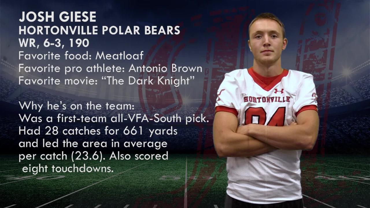Fox Valley Elite 11 Football 2018: Josh Giese   Hortonville Polar Bears