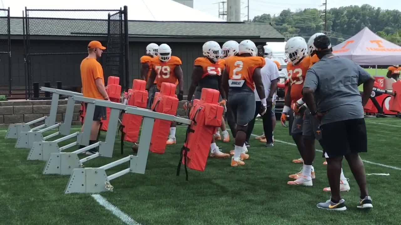 Tennessee had its 13th preseason practice on Friday
