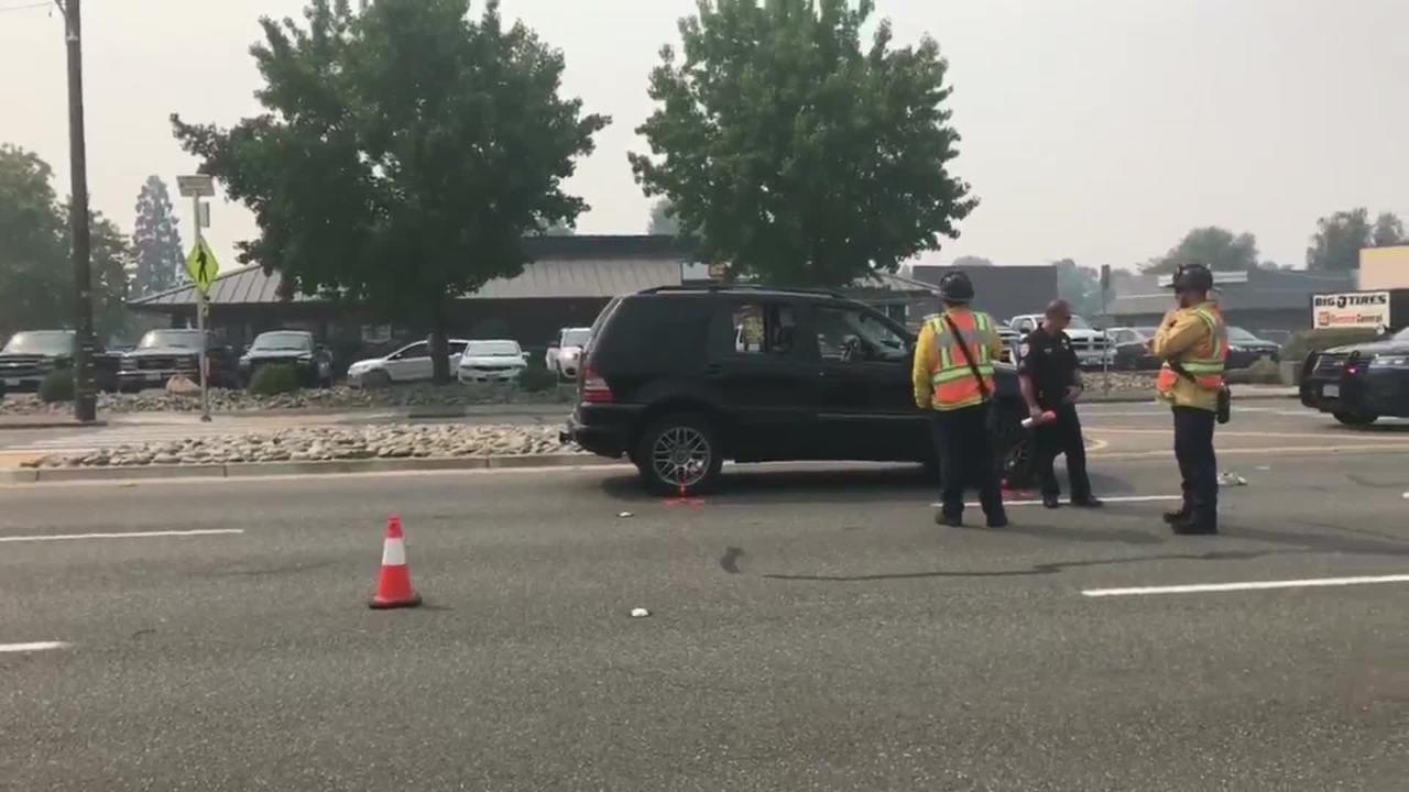 SUV hits woman on Cypress Avenue crosswalk in Redding