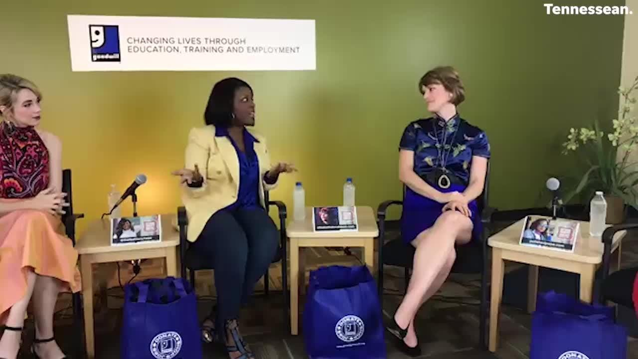 Ms Cheap hosts a National Thrift Shop Day panel