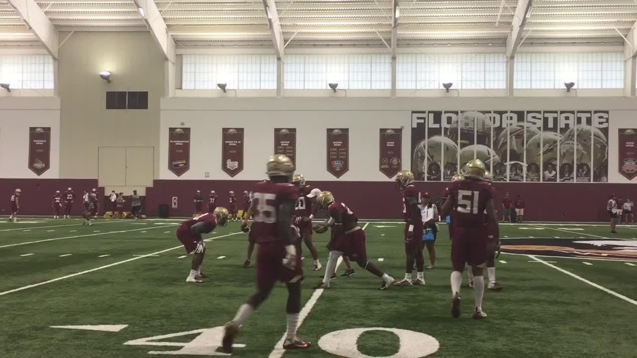 FSU held its final practice before Saturday's scrimmage on Friday.