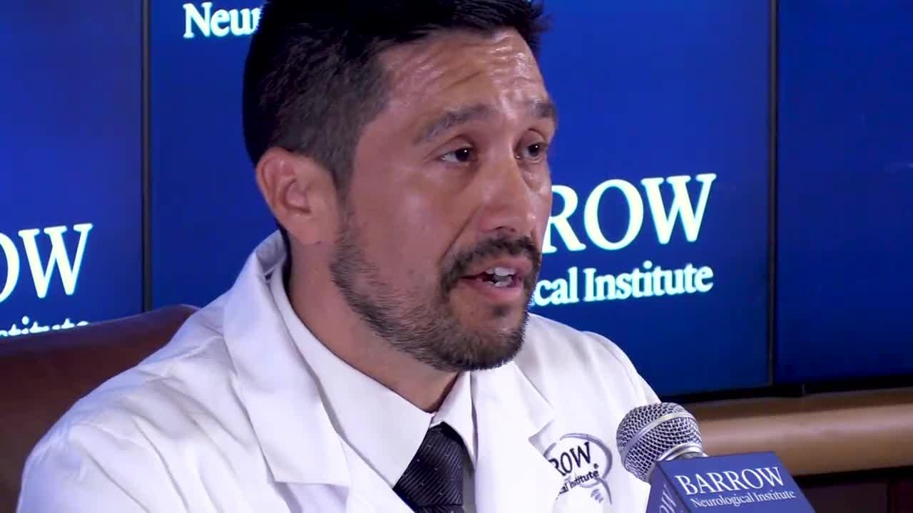 Dr. Javier Cardenas, director of the concussion and brain injury center at Barrow Neurological Institute discusses concussions in high school sports on Aug. 17, 2018.