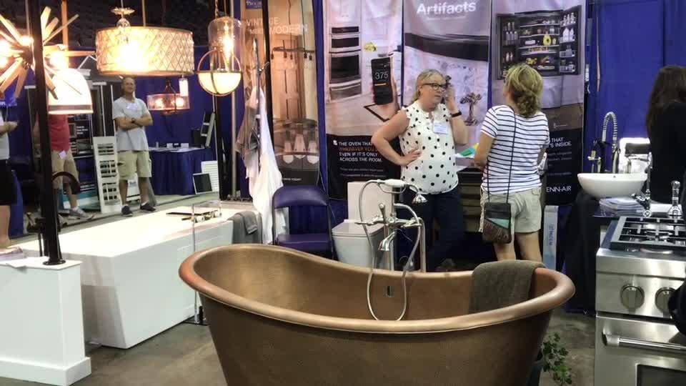 Sights and sounds from the opening day of the Home Builders Association of West Florida's Home & Product Expo at the Pensacola Bay Center