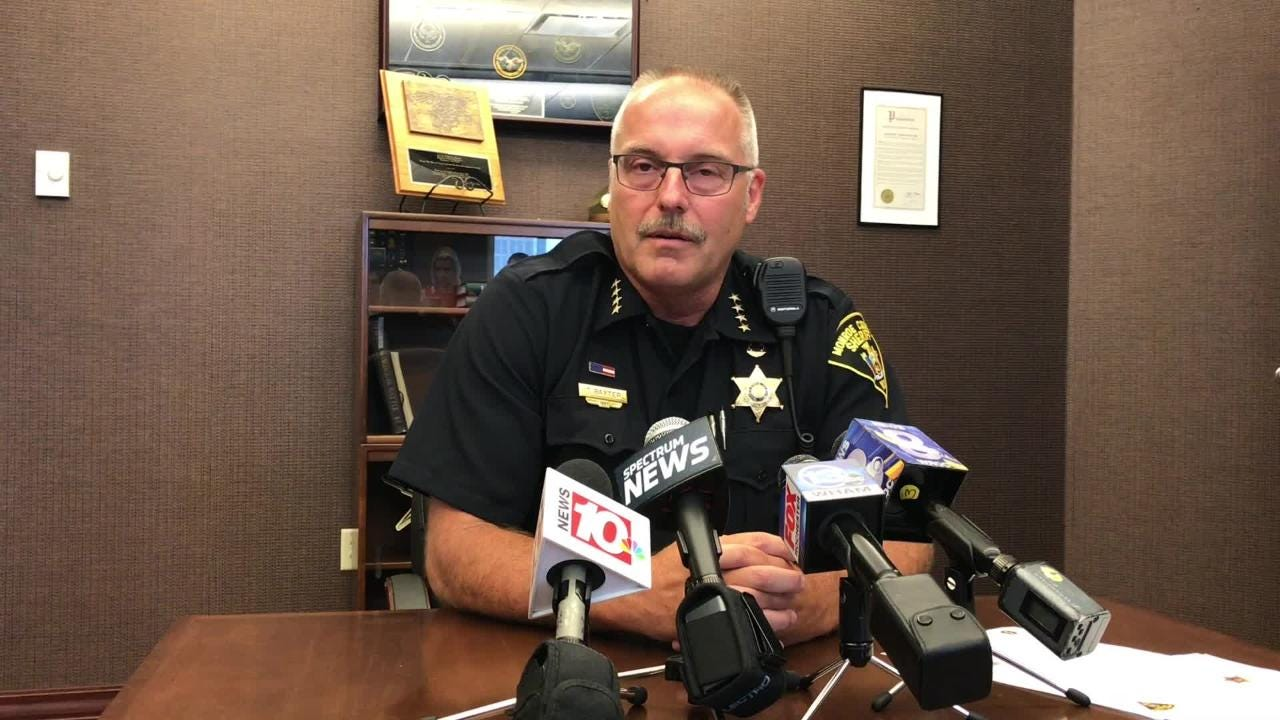 Deputies have made one arrest and seized the remaining inventory from the store, which Baxter called a 'persistent problem.'