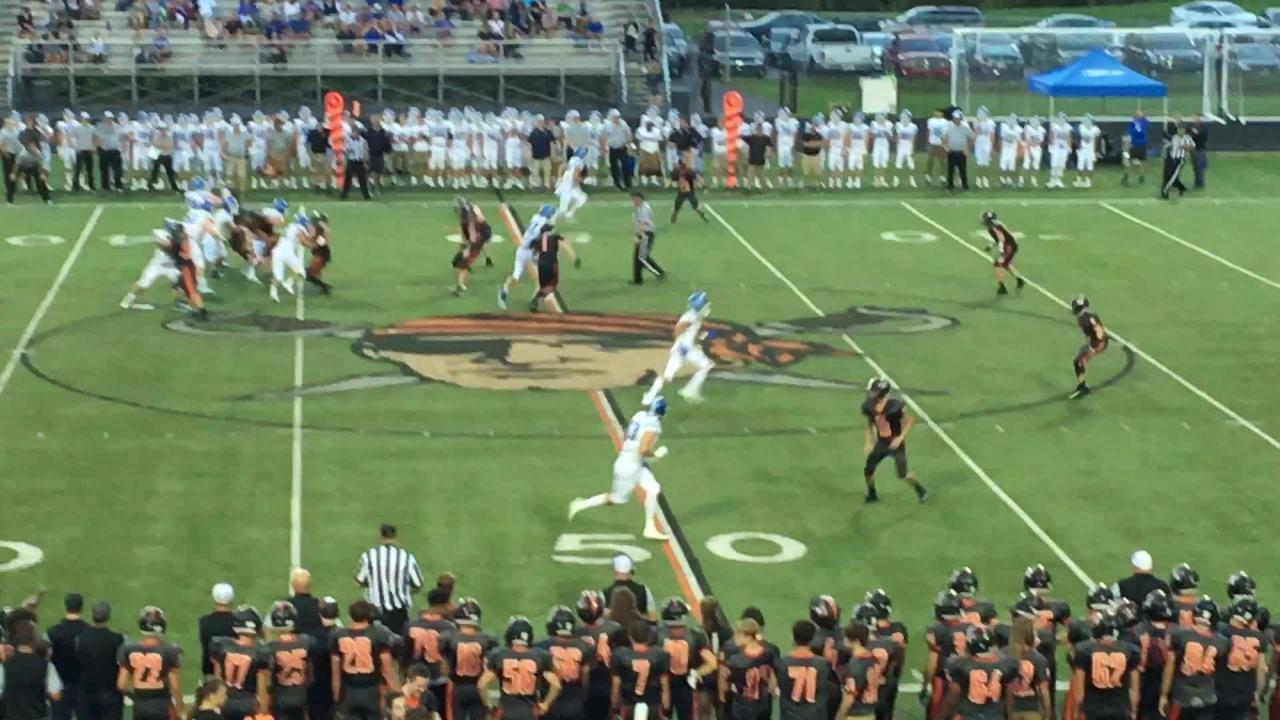 Casey McGinness turns loss into 4-yard gain