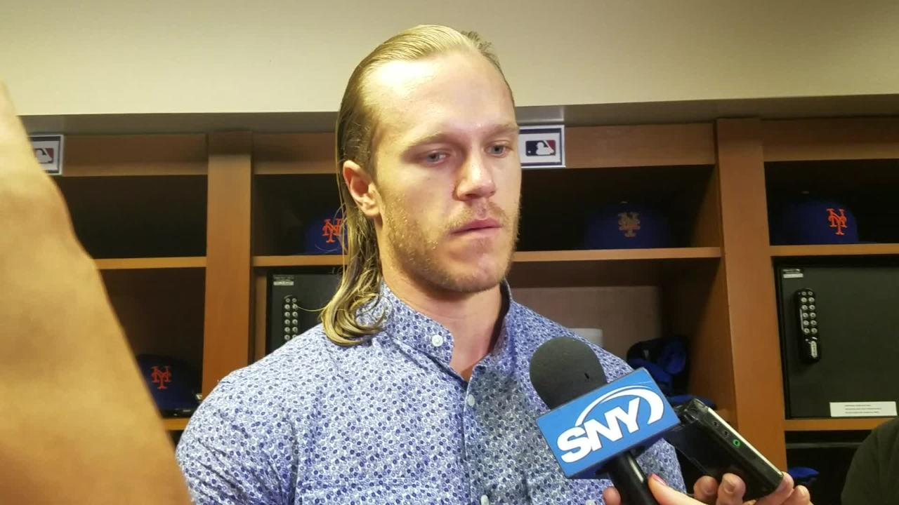 Noah Syndergaard on his performance against the Phillies
