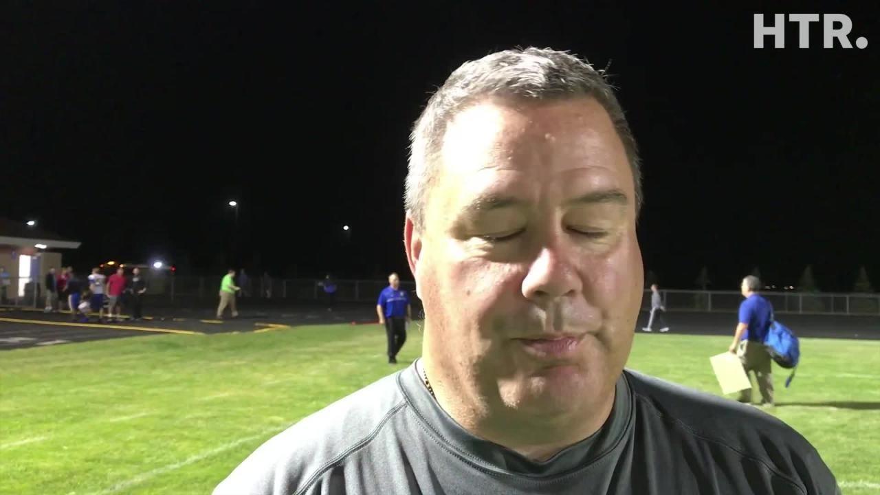 Video from Roncalli's 40-0 win in Week 1 over Kenosha St. Joseph's