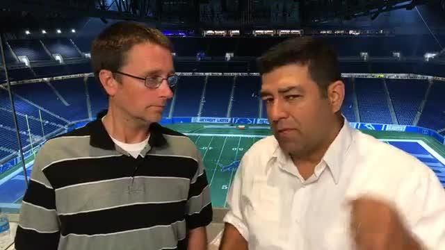 Dave Birkett and Carlos Monarrez break down what they saw in the Detroti Lions' 30-17 loss to the New York Giants on Friday, Aug. 17. 2018.