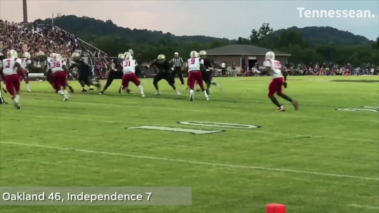 The best plays from the best games of Week 1 in the Nashville area.