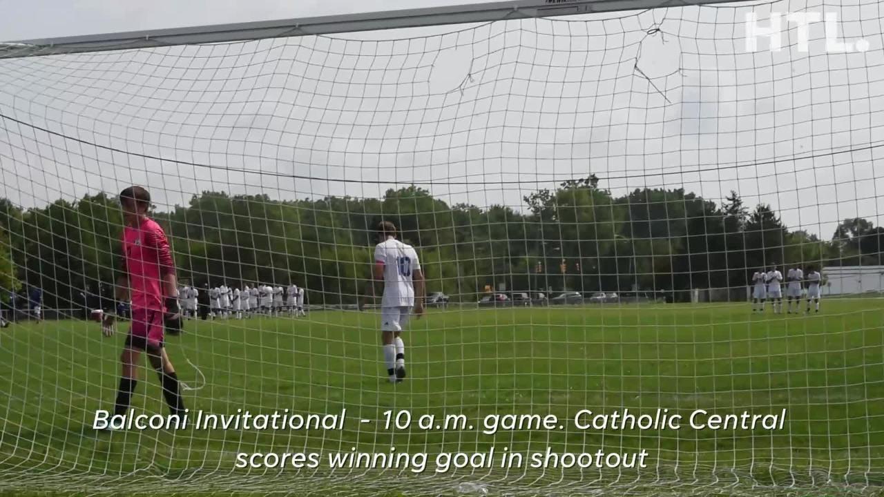 Balconi Invitational: DCC shootout winning goal