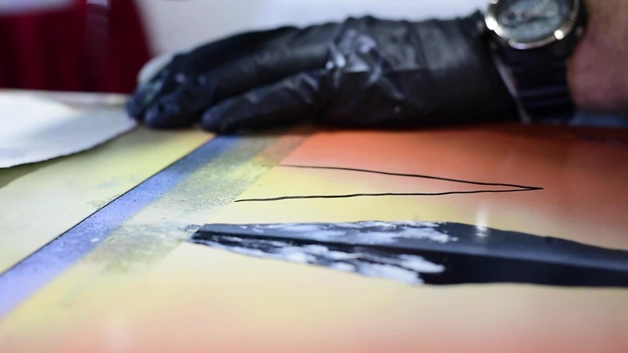 Local spray paint artist finds inspiration all around him