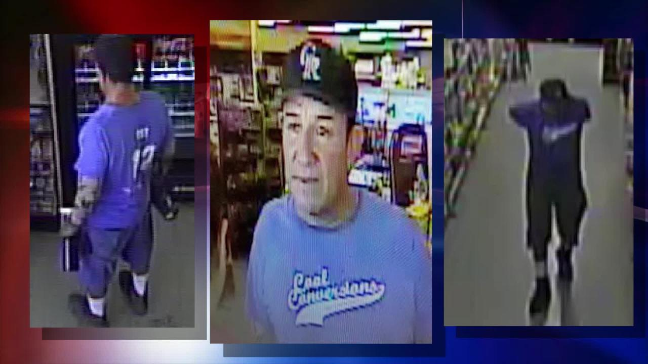 A man threatened to shoot a worker July 20 at the Family Dollar store at 9612 Montana Ave. after being confronted about stealing towels, police said.