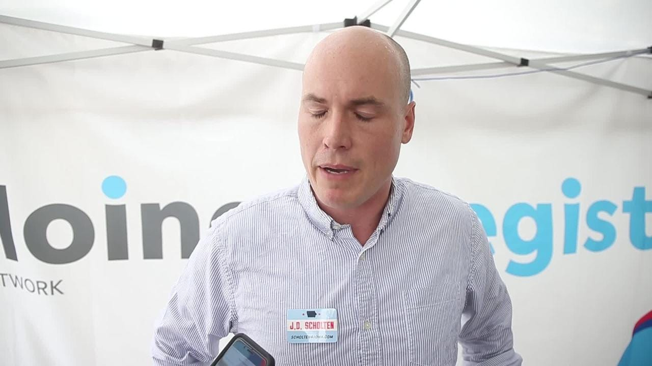"J.D. Scholten: King ""feels the threat"""