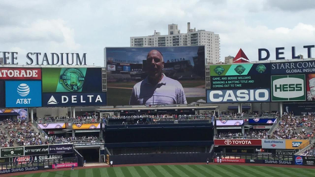 Yankees' '98 World Series MVP Scott Brosius's video address