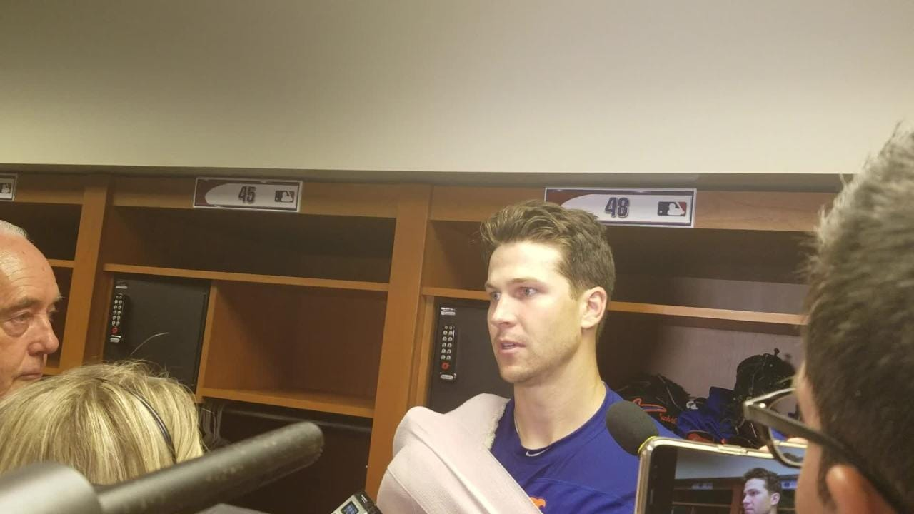 Jacob deGrom on his complete game in the 3-1 win over the Phillies